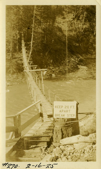 Lower Baker River dam construction 1925-02-16