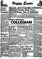 Western Washington Collegian - 1950 April 7