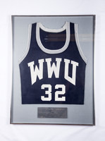 Basketball (Men's) Jersey: #32, Duke Wallenborn, 1992