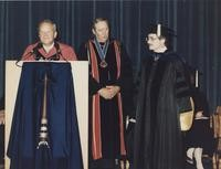 1985 Paul Ford with G. Robert Ross
