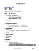 WWU Board of Trustees Packet: 2016-06-10