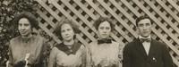 1912 Senior Class Officers