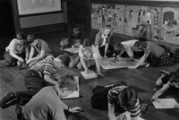 1942 Fifth Grade At Work (Class 5-B)
