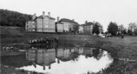 1909 Training School Students By Kibbe's Pond