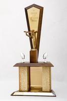 "Football Trophy: The Gerald ""Slates"" Salsgiver Award (front), 1966/1968"