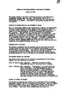 WWU Board minutes 1933 August
