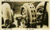 Lower Baker River dam construction 1925-09-09 Unit #2
