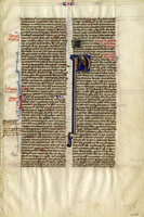 French Bible 13th Century [item 3105]