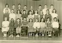 1962 Fifth Grade Class with Thomas Stevens