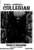 Western Washington Collegian - 1961 April 21