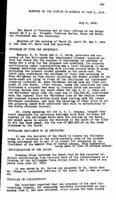 WWU Board minutes 1919 July