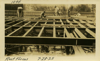 Lower Baker River dam construction 1925-07-28 Roof Forms