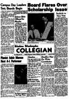 Western Washington Collegian - 1956 April 20