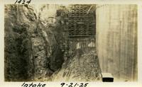 Lower Baker River dam construction 1925-09-21 Intake