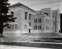 1928 Library: Southwest Facade