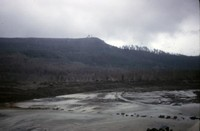 Army Corps of Engineers dam on North Fork Toutle River.
