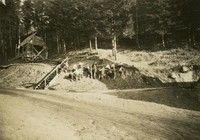 1927 Children Playing On Hill