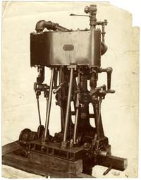 Unidentified machine manufactured by Warren & Smith, Fairhaven, Wash.