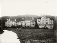1909 Main Building: Front View and Path