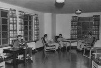1947 Men's Residence Hall: Second Floor Living Room