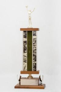 Basketball (Women's) Trophy: NCWSA Regional Champs (front), 1974