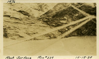 Lower Baker River dam construction 1925-10-15 Rock Surface Run #239