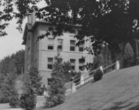 1930 Old Main Stairway