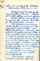 AS Board Minutes - 1925 January