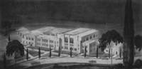 1929 Proposed Plans for Physical Education Building