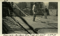 Lower Baker River dam construction 1925-06-29 Concrete Surface Run #148 El.3325