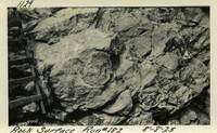 Lower Baker River dam construction 1925-08-08  Rock Surface Run #182