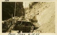 Lower Baker River dam construction 1925-06-15 Power House