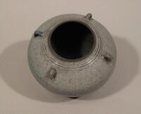 Sawankhalok ware jar, ovoid body with small loop handles at neck