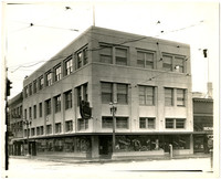 Four storey building and businesses at Cornwall and Holly, Bellingham, Washington
