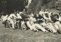 1946 Campus Day: Tug-of-War
