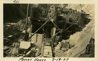 Lower Baker River dam construction 1925-07-19 Power House