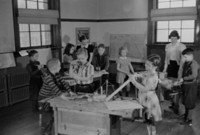 1942 Fourth Grade Students (Class With Miss Caldwell And Miss Thiel (Class 4-B)