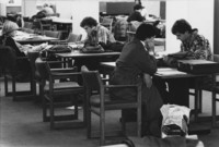 1975 Students in Library