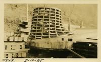 Lower Baker River dam construction 1925-02-10