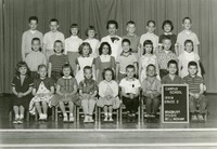 1961 Second Grade Class with Mary Irvin