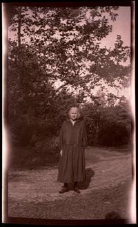 Unidentified older woman in black dress