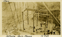 Lower Baker River dam construction 1925-10-09 Intake Gate House