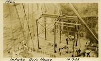 Lower Baker River dam construction 1925-10-09 Intake Gate House