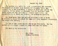 AS Board Minutes 1946-08