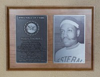 Hall of Fame Plaque: Rudy Thomas, Basketball, Class of 2013