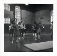 1965 Girls Doing Calisthentics