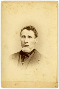 Formal studio portrait of man with goatee, Victor Charroin