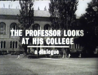 KVOS Special: The Professor Looks At His College