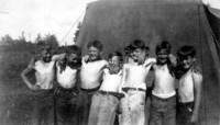 1935 Happy Campus Schooler Campers