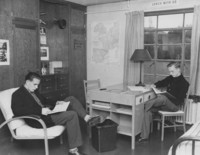 1950 Men's Residence Hall: Dorm Room
